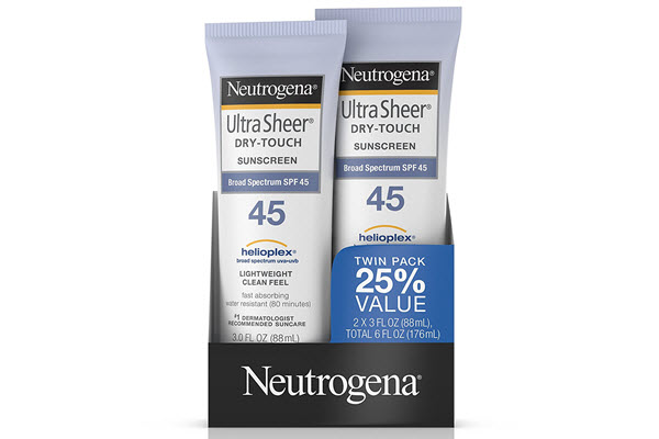 neutrogena ultra sheer