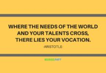 nurse quote aristotle quote