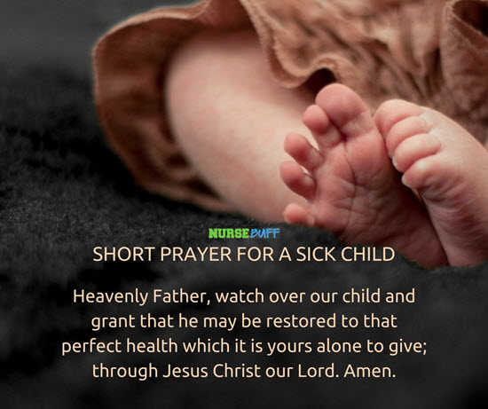 short healing prayer