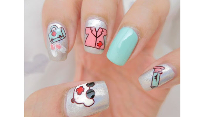 Medical-Related-Nail-Design