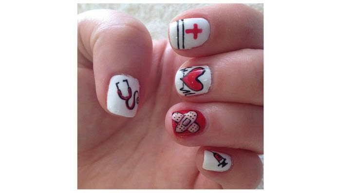 Medical-Stuff-Nail-Art