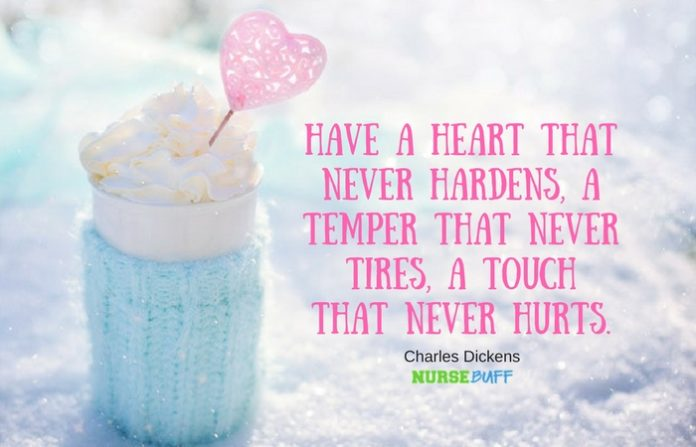 nurse quote charles dickens