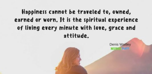 nursing quote living with love grace and attitude