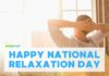 national relaxation day