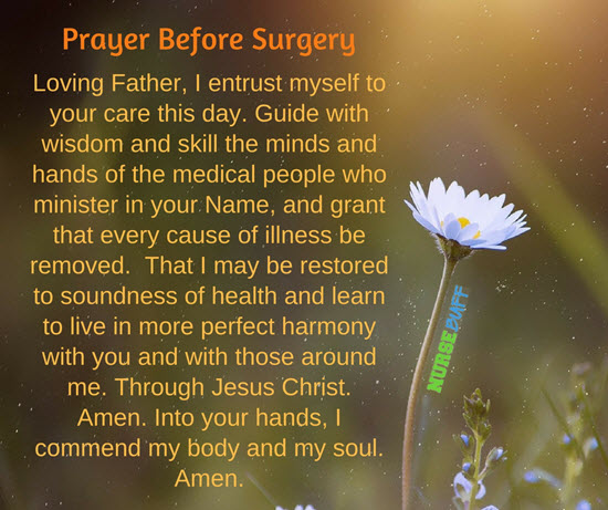 Good Luck On Your Surgery Quotes: 20 Short But Effective Prayers For Surgery