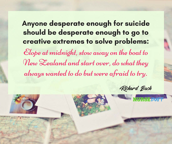 quotes to prevent suicidal thoughts