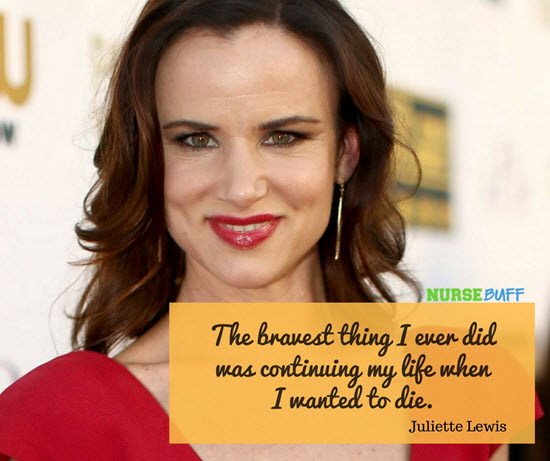 suicidal thoughts quotes juliette lewis