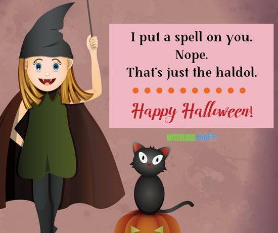 funny halloween greetings for nurses