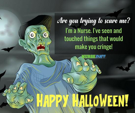 happy halloween greetings for nurses