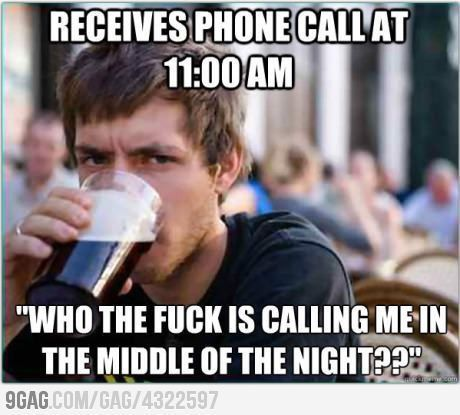 night shift memes phone call