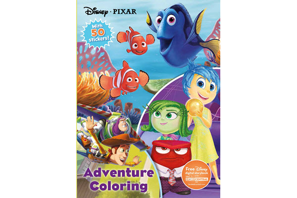 disney pixar activity book