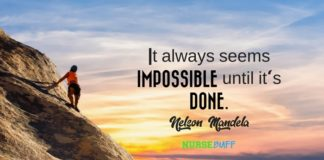 nurse quote nelson mandela