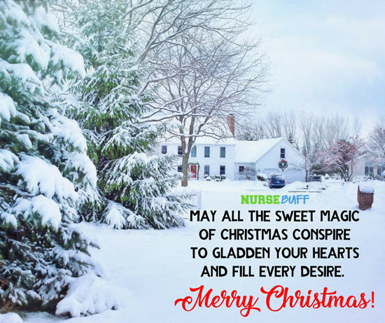 beautiful christmas greetings for nurses