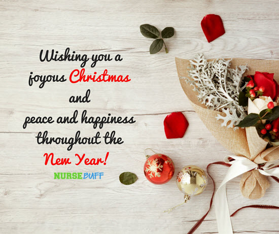 christmas season greetings for nurses