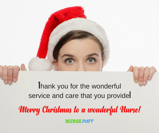 wonderful christmas greetings for nurses