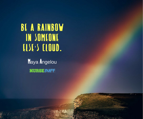 burnout quotes rainbow