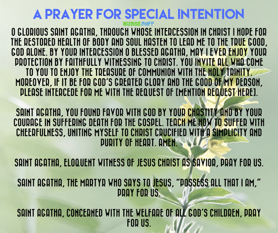 prayer for special intention
