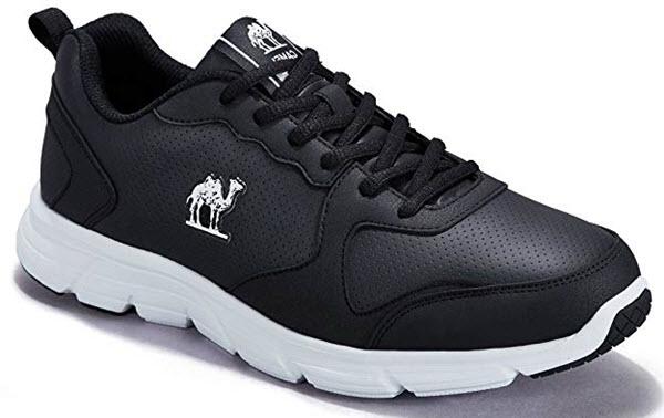 camel men sneakers