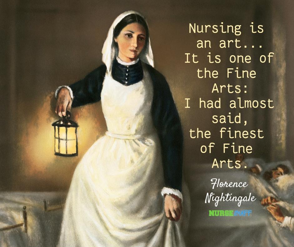 florence nightingale nurse quotes