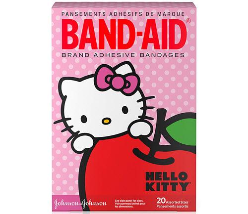 hello kitty band aids
