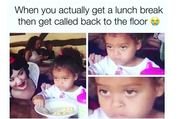 nurse lunch break