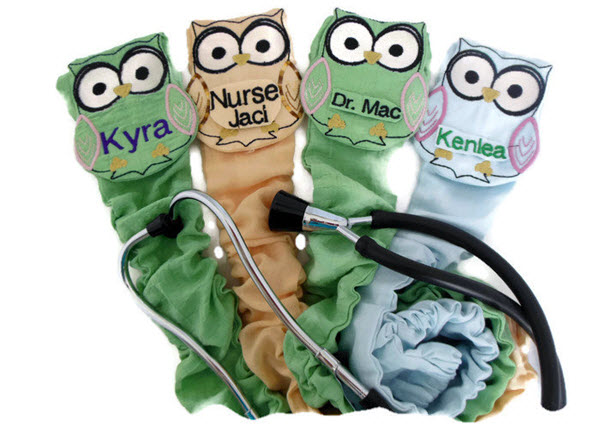 personalized stethoscope covers