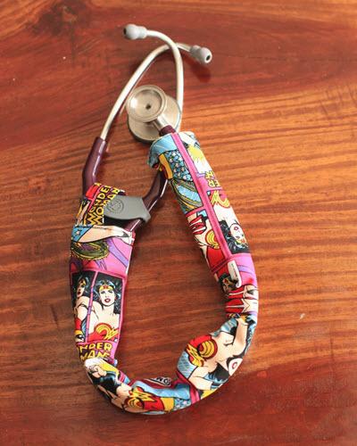wonder woman stethoscope covers