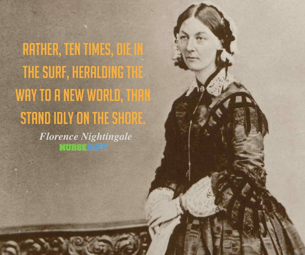 florence nightingale new world quotes