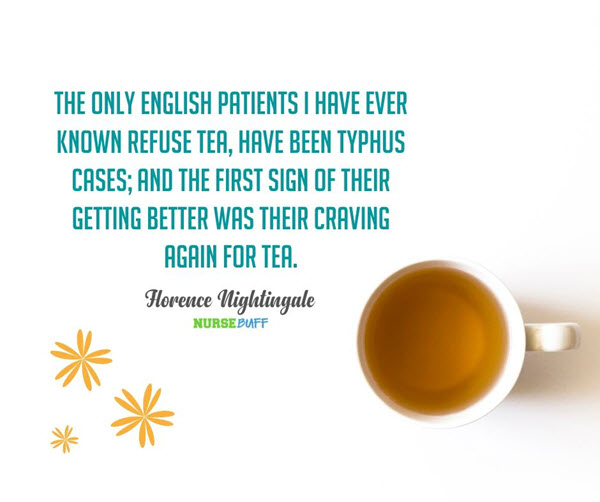 florence nightingale tea quotes