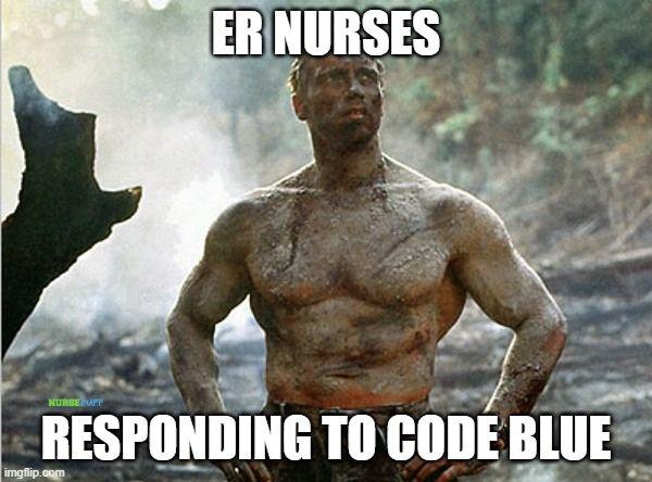 er nurse code blue meme