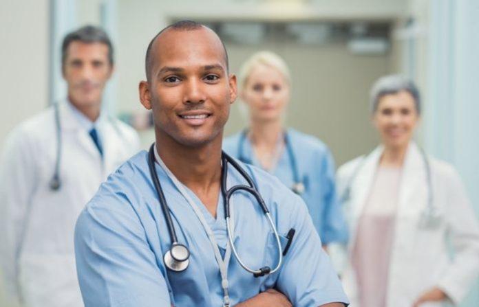 male nurse salary