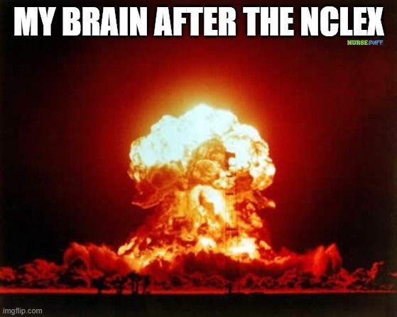 nclex brain memes