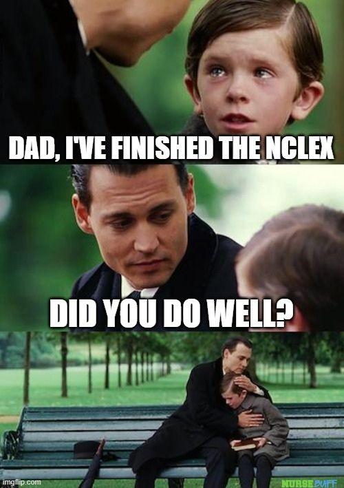 nclex finished memes
