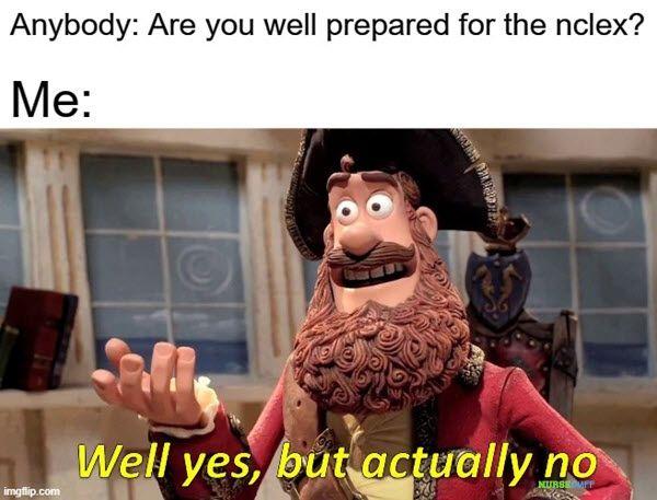 nclex prepared memes