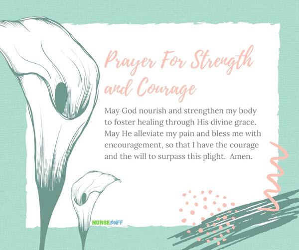 prayer for strength and courage of cancer patients