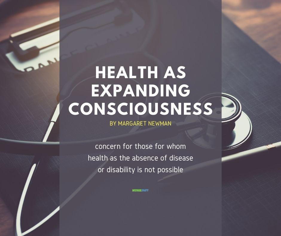 health as expanding consciousness nursing theories