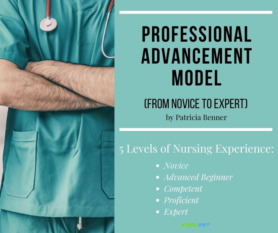 professional advancement model nursing theories