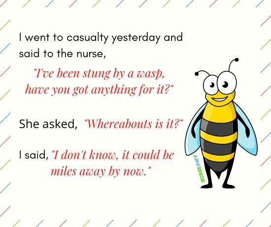 funniest nurse wasp jokes