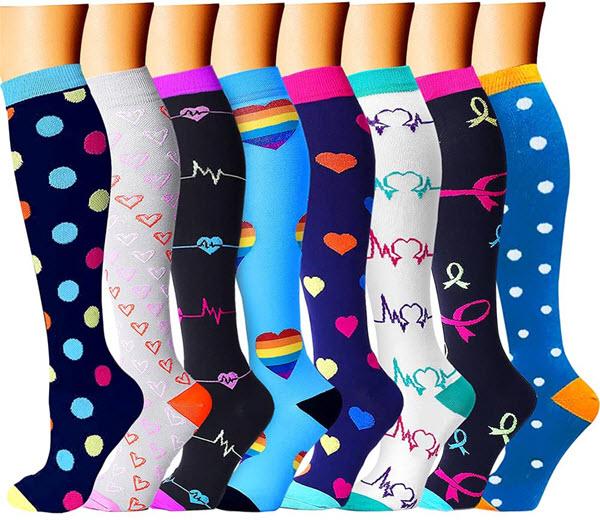 charmking compression socks for nurses