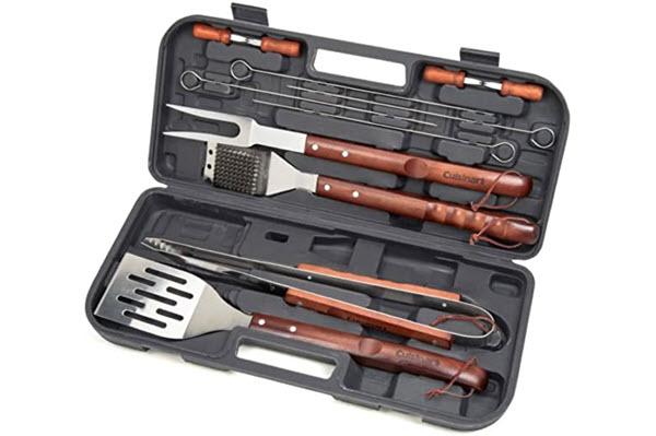 cuisinart wooden handle tool set