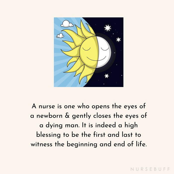 nursing beginning and end of life witness quotes