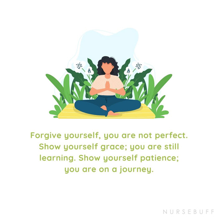 nursing forgive yourself quotes