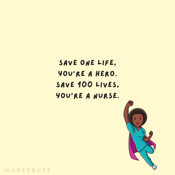 nursing hero nurse quotes