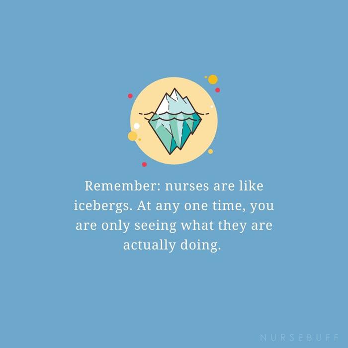 nursing icebergs quotes