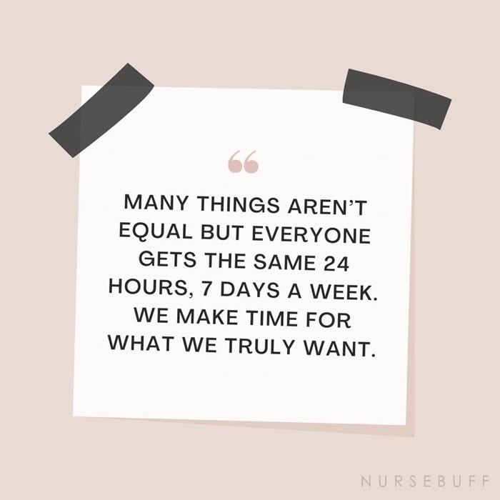 nursing make time quotes