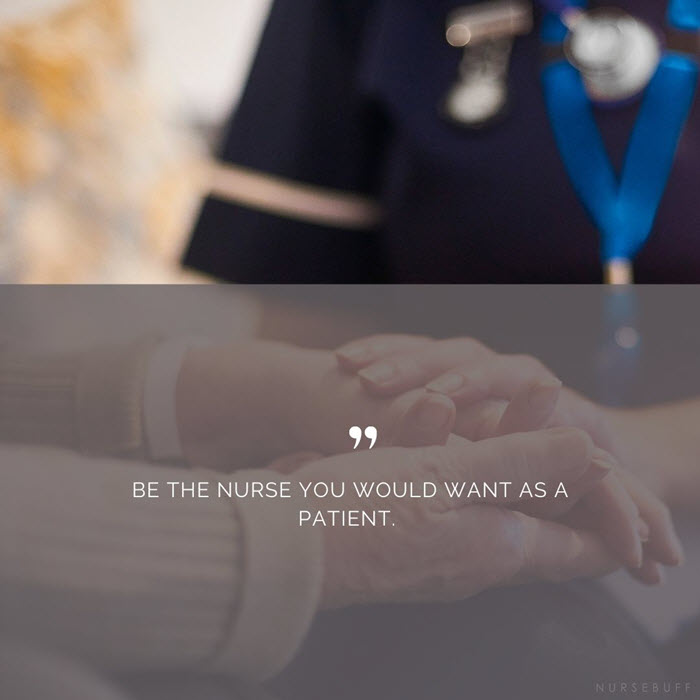 nursing quotes be the nurse