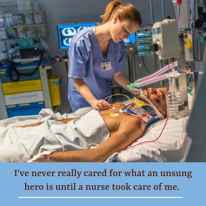 nursing quotes unsung hero nurse