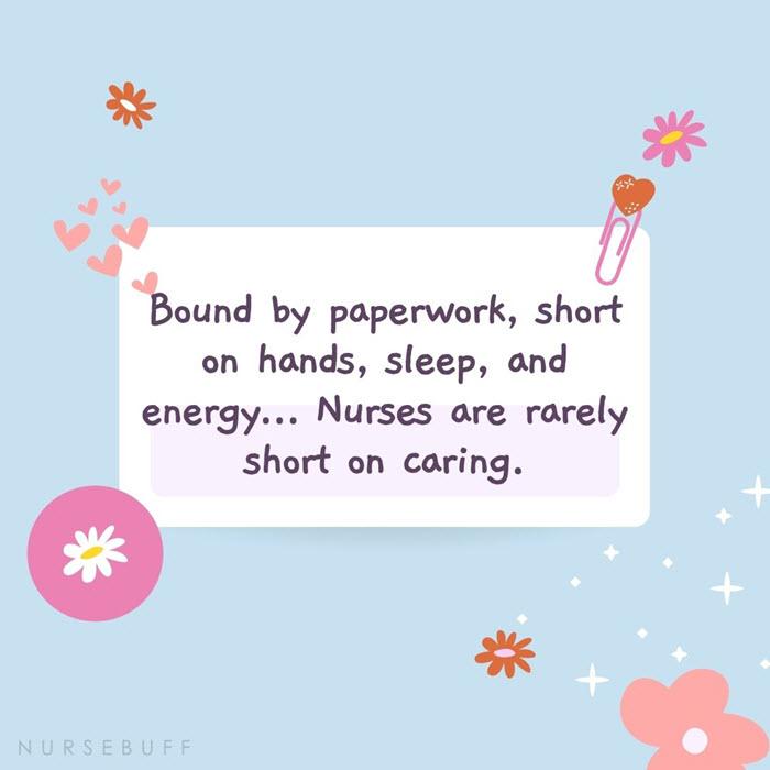 nursing sharon hudacek quotes