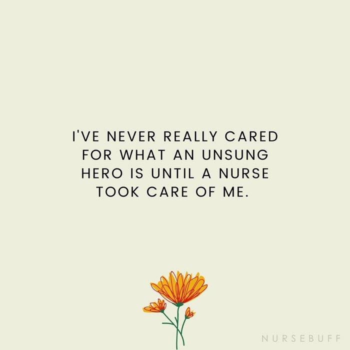 nursing unsung hero quotes