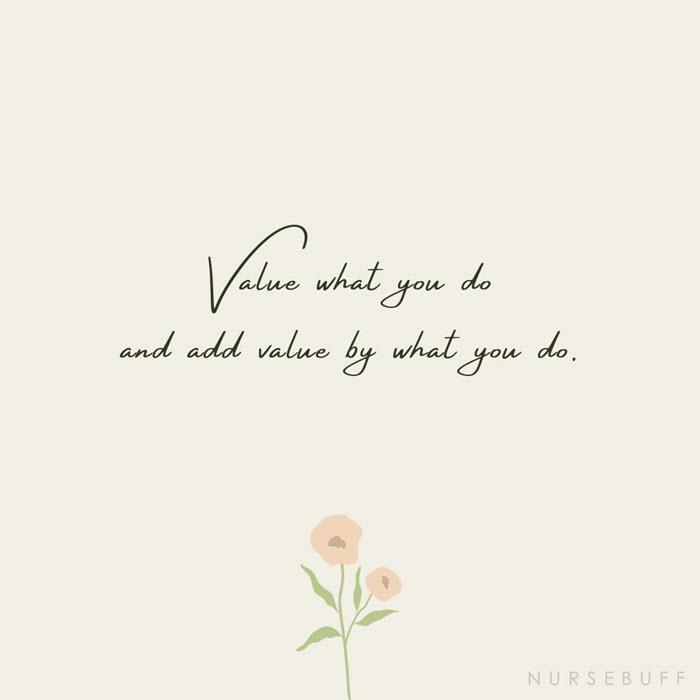 nursing value quotes
